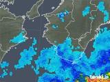 2019年07月02日の和歌山県の雨雲の動き