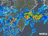 2019年07月02日の宮崎県の雨雲の動き