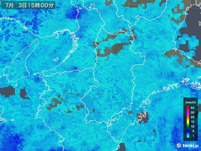 奈良 天気 雨雲 レーダー