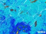 2019年07月03日の和歌山県の雨雲の動き
