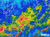 2019年07月03日の宮崎県の雨雲の動き