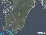 2019年07月04日の宮崎県の雨雲の動き