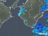 2019年07月05日の和歌山県の雨雲の動き