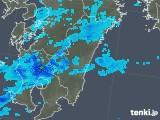 2019年07月05日の宮崎県の雨雲の動き