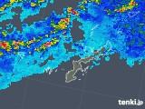 2019年07月05日の沖縄県の雨雲の動き