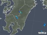 2019年07月06日の宮崎県の雨雲の動き