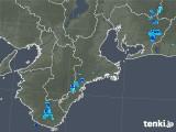 2019年07月07日の三重県の雨雲レーダー