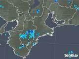 2019年07月08日の三重県の雨雲レーダー