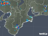 2019年07月24日の三重県の雨雲レーダー