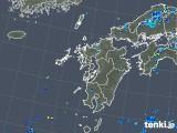 2019年07月28日の九州地方の雨雲の動き