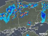 2019年07月28日の岡山県の雨雲の動き