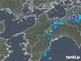 2019年07月28日の愛媛県の雨雲の動き