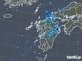 2019年07月29日の九州地方の雨雲の動き