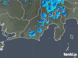 2019年07月29日の静岡県の雨雲の動き