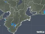 2019年07月29日の三重県の雨雲レーダー