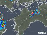 2019年07月29日の愛媛県の雨雲の動き