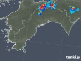 2019年07月29日の高知県の雨雲の動き