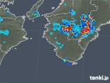 2019年07月30日の和歌山県の雨雲の動き
