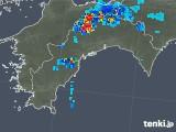2019年07月30日の高知県の雨雲の動き