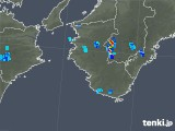 2019年07月31日の和歌山県の雨雲の動き