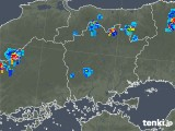 2019年07月31日の岡山県の雨雲の動き