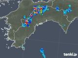 2019年07月31日の高知県の雨雲の動き