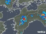 2019年08月01日の愛媛県の雨雲の動き