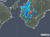 2019年08月02日の和歌山県の雨雲の動き