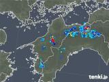 2019年08月02日の愛媛県の雨雲の動き