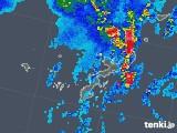 2019年08月02日の沖縄県の雨雲レーダー