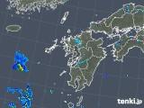 2019年08月03日の九州地方の雨雲の動き