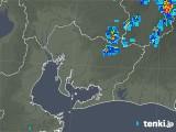 2019年08月03日の愛知県の雨雲の動き