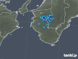 2019年08月03日の和歌山県の雨雲の動き