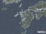2019年08月04日の九州地方の雨雲の動き