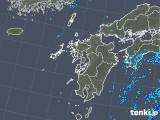 2019年08月05日の九州地方の雨雲の動き