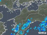 2019年08月05日の愛媛県の雨雲の動き