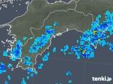 2019年08月05日の高知県の雨雲の動き