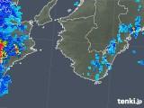 2019年08月06日の和歌山県の雨雲の動き