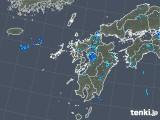 2019年08月07日の九州地方の雨雲の動き
