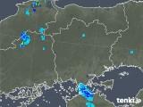 2019年08月07日の岡山県の雨雲の動き