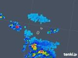 2019年08月07日の沖縄県(南大東島)の雨雲レーダー