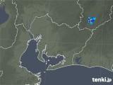 2019年08月08日の愛知県の雨雲の動き