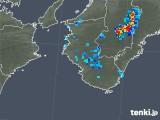 2019年08月09日の和歌山県の雨雲の動き