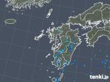 2019年08月12日の九州地方の雨雲の動き