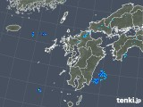 2019年08月16日の九州地方の雨雲の動き