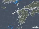2019年08月17日の九州地方の雨雲の動き
