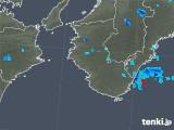 2019年08月18日の和歌山県の雨雲の動き