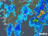 2019年08月19日の高知県の雨雲の動き