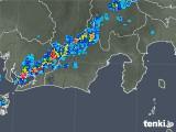 2019年08月20日の静岡県の雨雲の動き