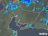 2019年08月21日の愛知県の雨雲の動き